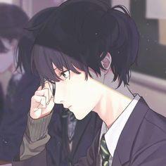 - - Please visit our website to support us! Chica Anime Manga, Manga Boy, Kawaii Anime, Anime Art, Anime Triste, Cute Anime Guys, Anime Boys, Handsome Anime, Ecchi