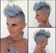 The most beautiful coloured short haircuts of 2015