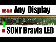 In this video,how to install any other brand including LG & Samsung display panel in SONY bravia LED tv. Sony Led Tv, Free Software Download Sites, Computer Maintenance, Double Image, Electronic Circuit Projects, Display Panel, Circuit Diagram, Amai, Science And Technology
