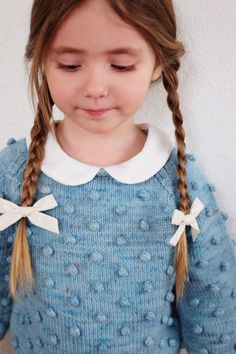 Pearl Pigtail Set by Free Babes Handmade (now Wunderkin Co.) // Handcrafted by moms in the USA. Made to embolden your little girls free spirited style. Baby Girl Fashion, Kids Fashion, Little Girl Hairstyles, Kids Hairstyle, Stylish Winter Outfits, Hipster Babies, Handmade Hair Bows, Kid Styles, My Baby Girl