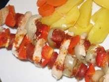 Ražniči v parnom hrnci