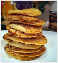 Pancakes free of the top 6 allergans.  Made these this morning, kids loved them.  I added cinnamon and nutmeg.  Next time might replace honey with grade b maple syrup for a more intense flavor.