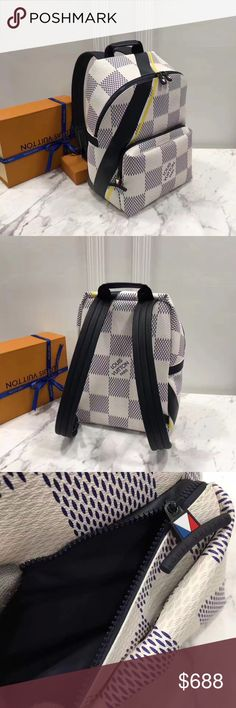 Louis Vuitton Apollo Backpack Autres Toiles Brand new bag with tags .. let me know if your are interested. Contact me at 561-221-4428. Louis Vuitton Bags Backpacks
