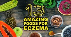 Today I wanted to have a look at 13 good foods that can help treat eczema naturally. The good foods for eczema often...