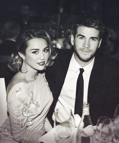 Miley Cyrus Liam Hemsworth vintage
