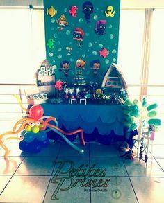 Mesa de dulces de Bubble Gupies