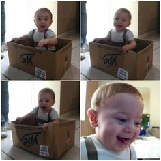 Bagunça na caixa