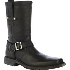 "Durango City: Chicago Collection - Men's 11"" Black Harness Boots - Style #DB5578 - Durango Boot Company"