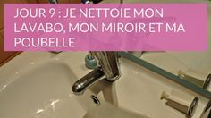 Nettoyer lavabo salle de bains