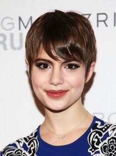 Sami Gayle Short Hair Style for 2014 - Chic Pixie Cut for Thin Hair