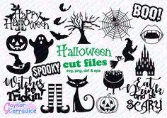 Halloween svg bundle halloween svgs halloween dxf files