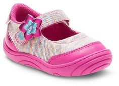 Surprize by Stride Rite Baby-Girl Petula Mary Jane Sneakers Pink 3M