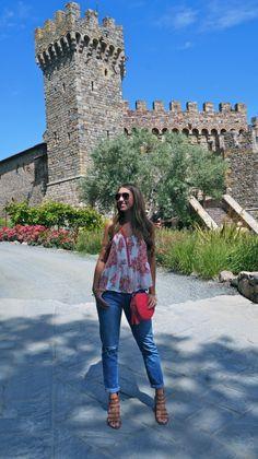 hollzdolledup.blogspot.com // boyfriend jeans in Napa Valley Country Chic, Wine Country, Fashion Ideas, Women's Fashion, Girls Weekend, Wineries, Napa Valley, Palermo, Wine Tasting