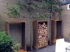 Eden - Lilly is Love Eden Wood, Firewood Storage, Love Garden, Outdoor Fire, Outdoor Projects, Garden Inspiration, Garden Furniture, Outdoor Gardens, Garden Design