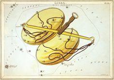 """""""Libra"""", plate 22 in Urania's Mirror"""
