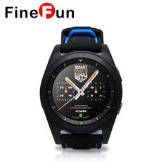 <Click Image to buy>FineFun G6 Sport Bluetooth 4.0 Smart Watch MT2502 HD screen Heart Rate sleep monitor pedometer Smartwatch for ios Android ~  #SmartWatches