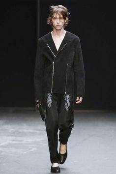 Lee Roach Menswear Fall Winter 2015 London - NOWFASHION