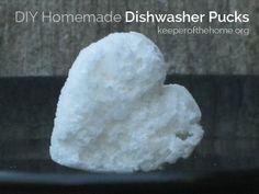DIY Dishwasher Detergent Pucks - Keeper of the Home
