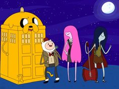 Adventure time / Doctor Who mash-up