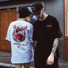 Best Streetwear Brands, T Shirt Streetwear, Style Streetwear, Japanese Streetwear, Streetwear Fashion, Style Japonais, Shorty, Tee Design, Nike Outfits