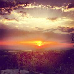 Sun goes down!