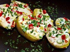 Schnelle Pizza - Ofenkartoffeln, ein tolles Rezept aus der Kategorie Kartoffeln. Bewertungen: 41. Durchschnitt: Ø 4,1.