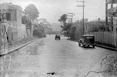 1940 - Rua Augusta próximo a rua Martinho Prado.