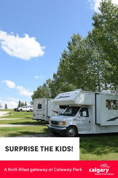 Calgary Amusement Park, Theme Park and Campground Tent Camping, Camping Hacks, Travel Hacks, Laughing Baby, Admission Ticket, Western Canada, Rv Parks, Amusement Park, Calgary