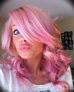 manic panic cotton candy pink - Google Search