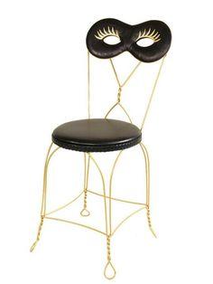 Moschino ♥ chair