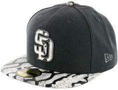 c73c3335c19e5 Exclusive San Diego Padres Grey Venom Fitted Cap by NEW ERA x BILLION  CREATION x MLB