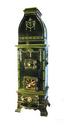 alter kaminofen aus gusseisen art d co gegossen um 1920 in d nemark ein blickfang in jedem. Black Bedroom Furniture Sets. Home Design Ideas