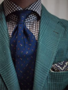colcravate:  shibumi tie sartorio jacket