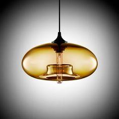 Moderne Art deco Opknoping kleurrijke glas e27/e26 Hanglamp met led-verlichting koord voor restaurant woonkamer Keuken bar cafe