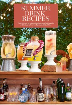 Summer Drink Recipes: Mademoiselle, Lemon Berry Burst, Passion Punch, Summer Solstice Punch, and Tanqueray No. Ten Citrus Punch