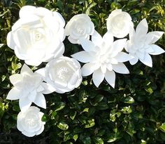 8-Giant-Paper-Flowers-Simply-White