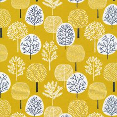 134304 Forest | Citron Quilter's Cotton from First Light by Eloise Renouf for Cloud9 Fabrics