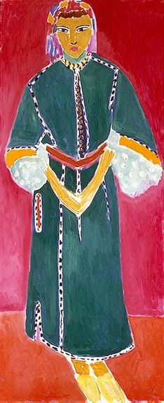 style court: Channeling Matisse in Morocco