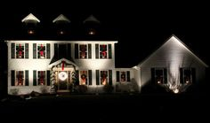 This is one of the most beautiful houses I've seen - totally my style. I love how it's decorated for Christmas.