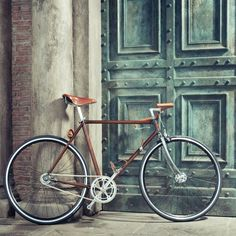 Prga Velo Wooden Custom Bike