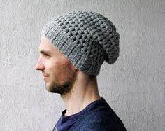 1f948bfac2e66 Image result for crochet beanie hat Mens Crochet Beanie