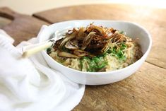 Maggie Beer's Mushroom Risotto