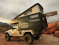 Jeep Action Camper