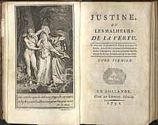 Justine – Wikipédia, a enciclopédia livre