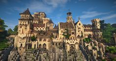 [Minecraft Timelapse] Project | Ambariña, a Medieval Mediterranean City [w/ Download] #WeAreContest Minecraft Project