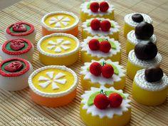 пироженки на основе крышек