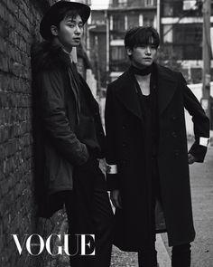Park Seo-joon and Park Hyung-sik have a special bromance going on. The leading stars of the new KBS drama 'Hwarang', Park Seo-joon and Park Hyung-sik, were featured in the December issue of VOGUE KOREA. Korean Star, Korean Men, Asian Men, Asian Actors, Korean Actors, Korean Dramas, Taehyung Hwarang, Joon Hyung, Park Hyung Sik Hwarang