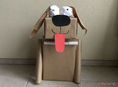 Diy Crafts To Do, Dog Crafts, Valentine Box, Embroidered Clothes, Flooring, Leather Backpack, Pattern, Blog, Decorations