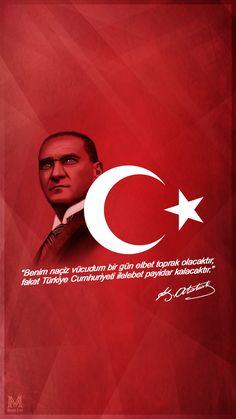 Mustafa Kemal ATATÜRK 29 Ekim'e Özel Mobil Duvar Kağıdı