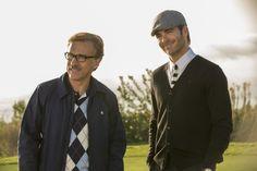 Still of Christoph Waltz and Chris Pine in Horrible Bosses 2 (2014)